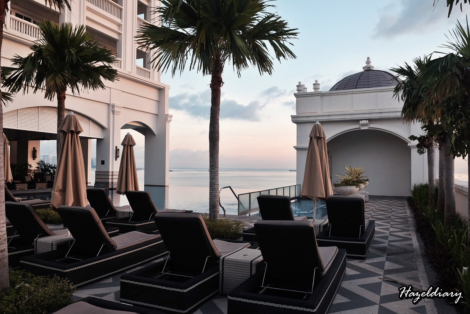 Eastern and Oriental Hotel Penang Malaysia-Infinity Pool-1