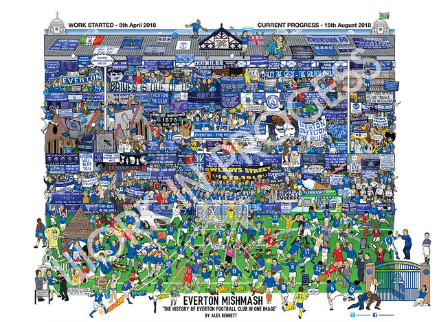 Everton Mishmash 16th aug