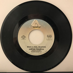 ARETHA FRANKLIN:WHAT A FOOL BELIEVES(RECORD SIDE-A)