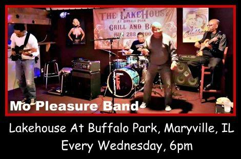 Mo Pleasure Band Every Wednesday