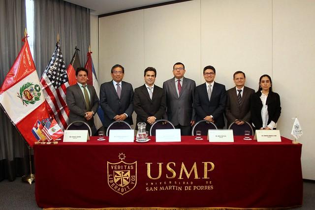 Facultad de Medicina Humana de la Universidad de San Martín de Porres realizó Simposio Internacional de Medicina de Precisión en Enfermedades Oncohematológicas