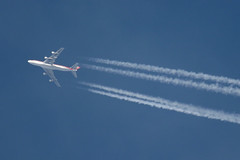 Kalitta 747 Over Heathrow November 16th 2004
