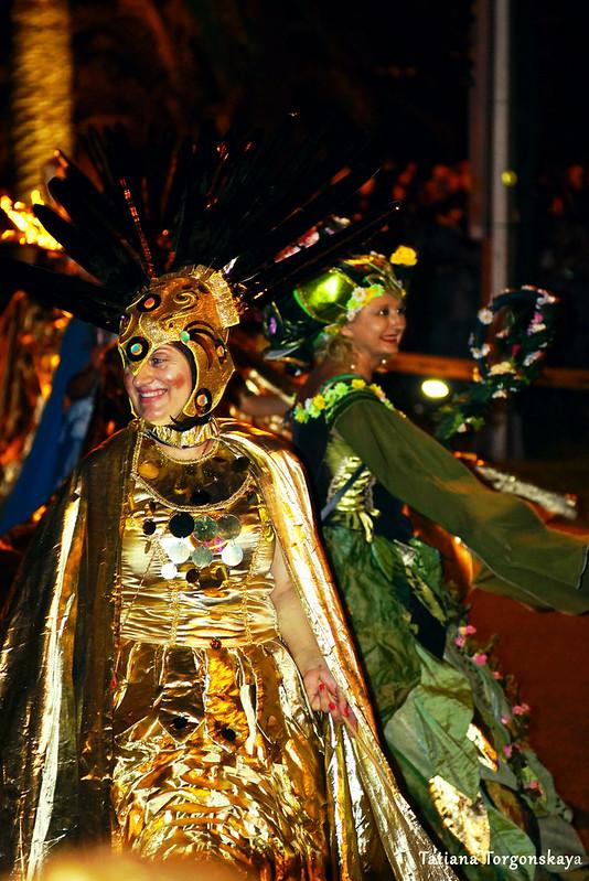 Выступление будванской карнавальной группы в Которе