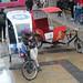 """Berlin : """"biketaxis"""" en attente de clients"""