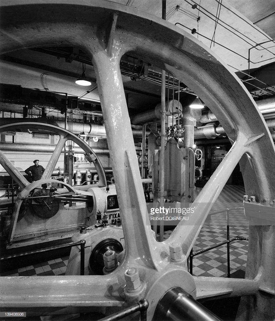 1968. Машинное отделение в Ле-Аль