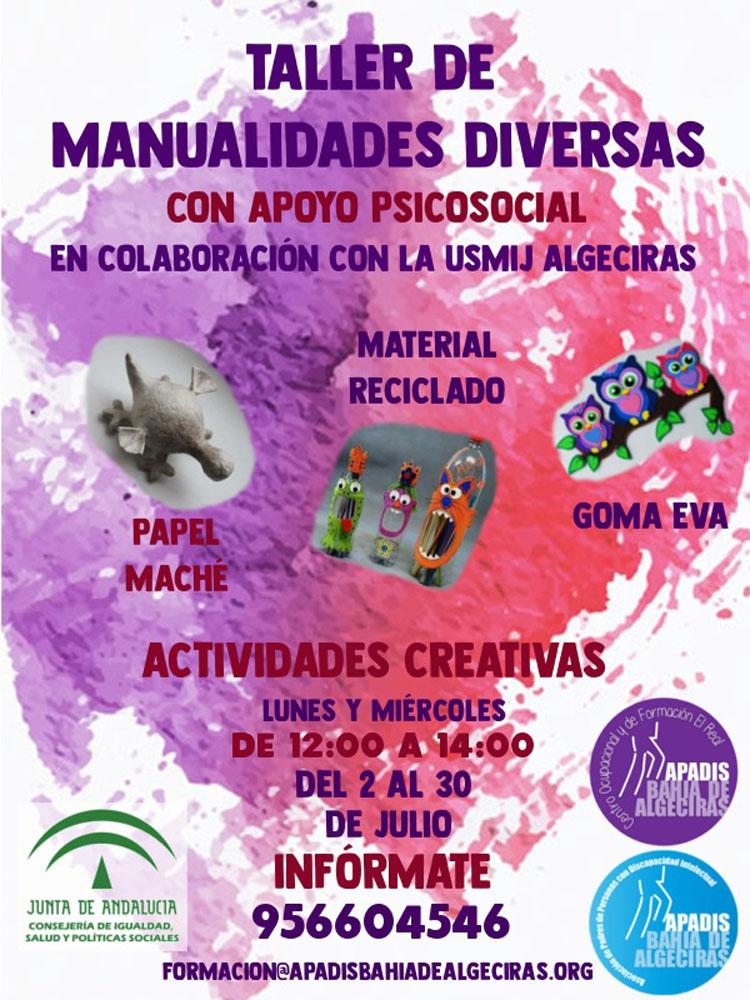 CARTEL TALLER DE MANUALIDADES2