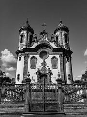 Igreja de São Francisco, uma das principais em São João Del Rei, Minas Gerais.