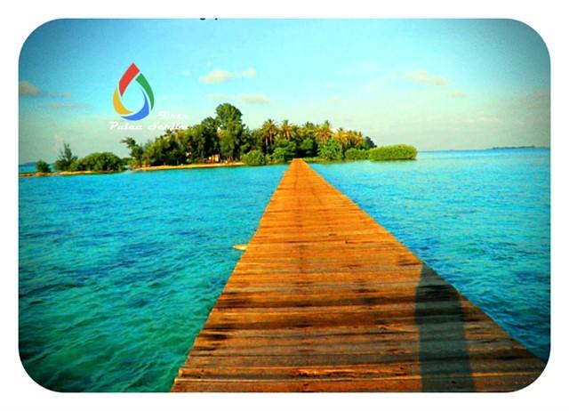 Pemandangan Pulau Tidung yang Mempesona