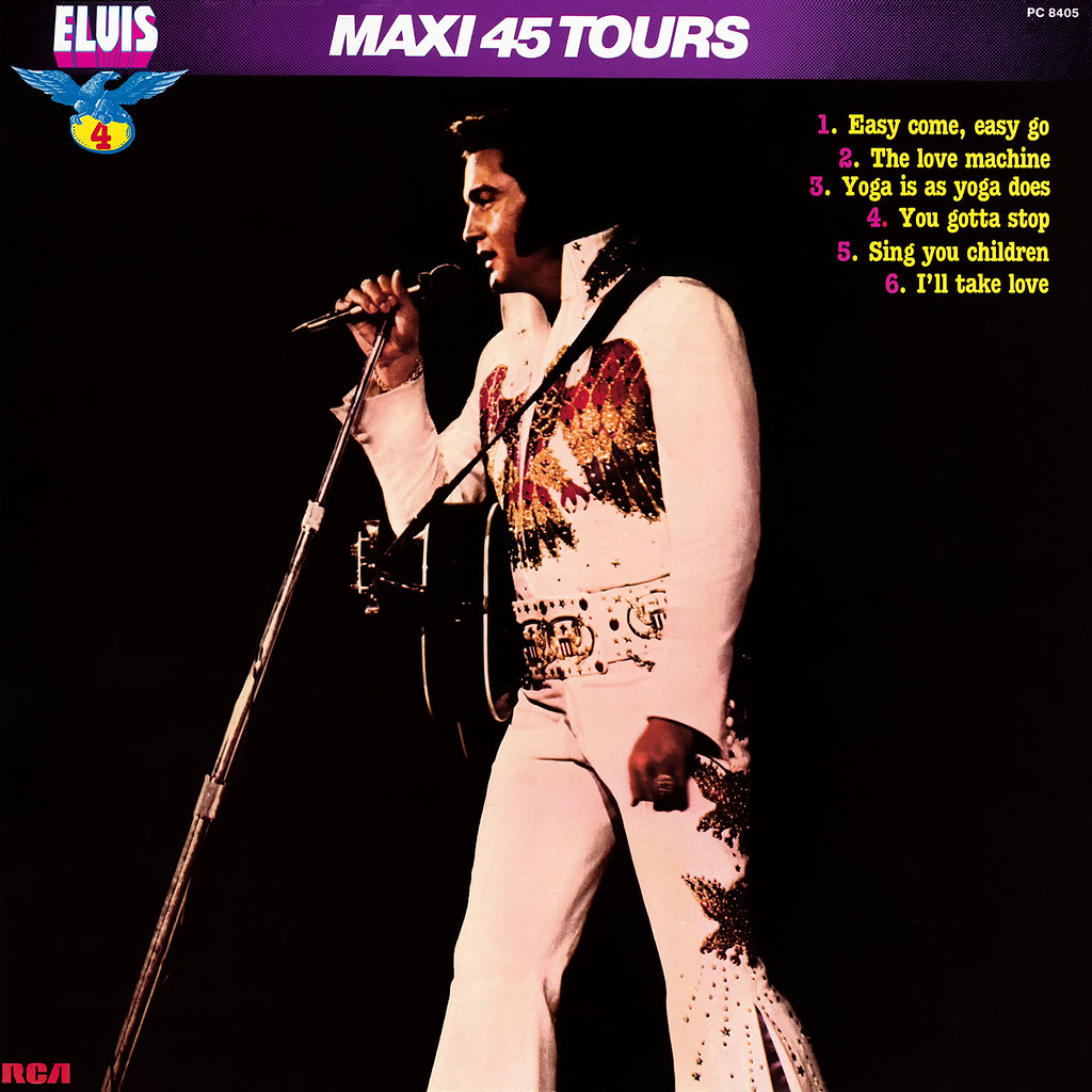 Elvis Presley - Maxie 45 Tours vol 4