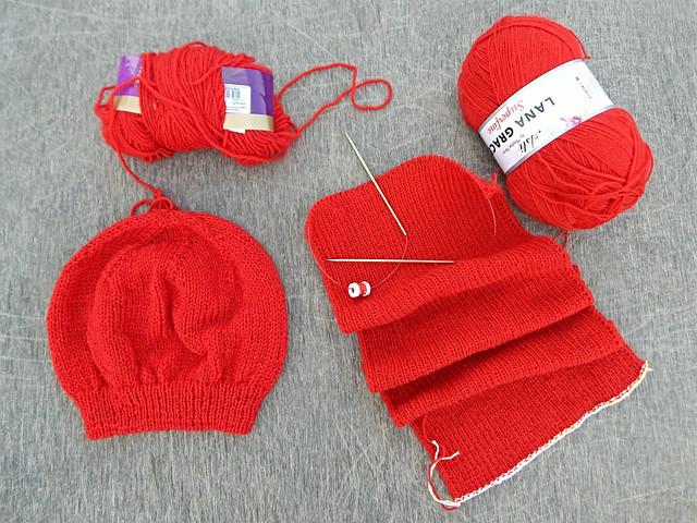 шапка-шарф-профиль