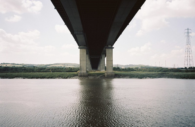 Under the M5, looking at where we'd been