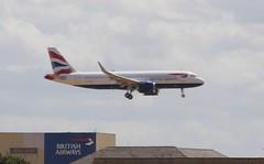 British Airways Airbus A320neo G-TTND first service London Heathrow Ai