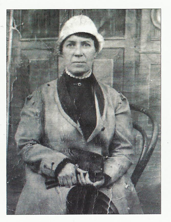 Ю. А. Алленова - воткинская Сестра милосердия