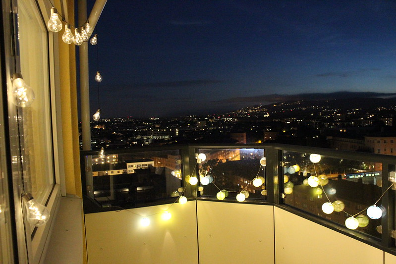 A night on the balcony / etdrysskanel.com