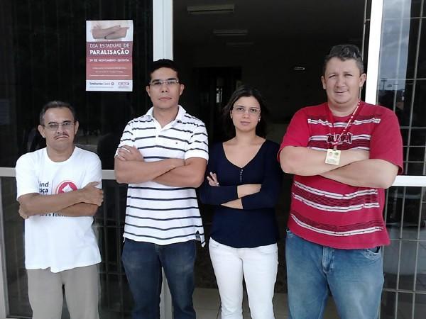 Paralisação na Comarca de Capistrano - 02/12/2012