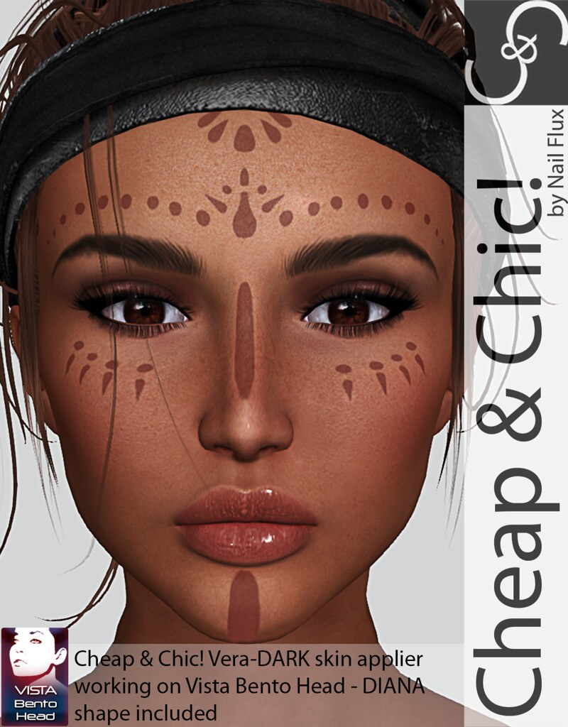 Cheap & Chic! Vera-Skin applier for VISTA ZOE Bento Heads