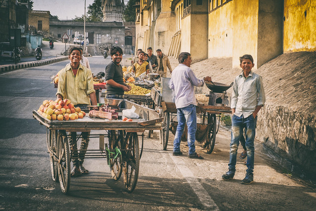 Vendors on Their Way Home | Jaipur, Rajasthan, India