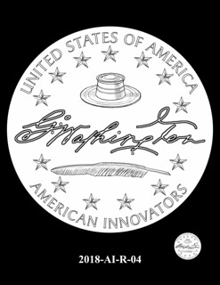 American Innovation $1 Coin design 2018-AI-R-04