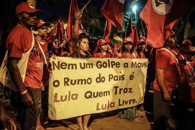 Atos políticos dão a largada para Marcha Nacional Lula Livre