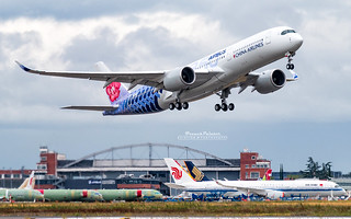 Airbus A350 China Airlines B-18918