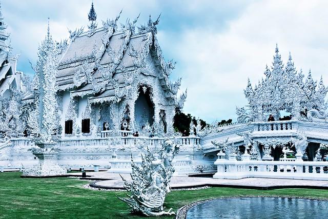 The White Temple - Wat Rong Khun - Chiang Rai - Thailand