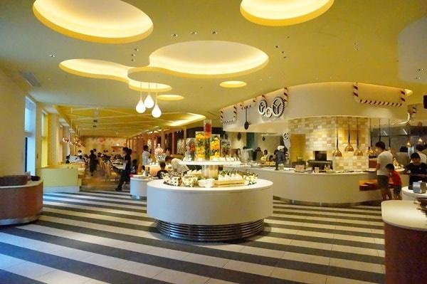 ホテルユニバーサルポートヴィータの朝食