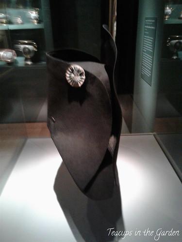 13-Bicorne from the Emporer's Wardrobe 1812 made of felt silk beaver pelt