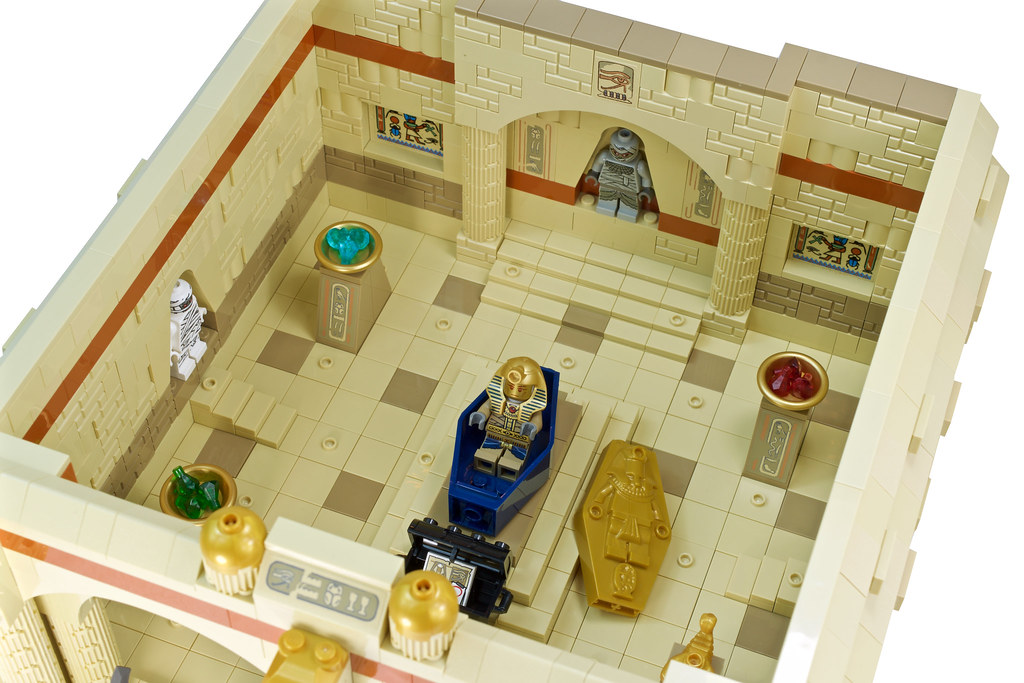 Johnny Thunder and the Lost Tomb of Ramesses VIII - Top Level Interior