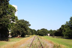 Abandoned SP Track in Eustace Texas