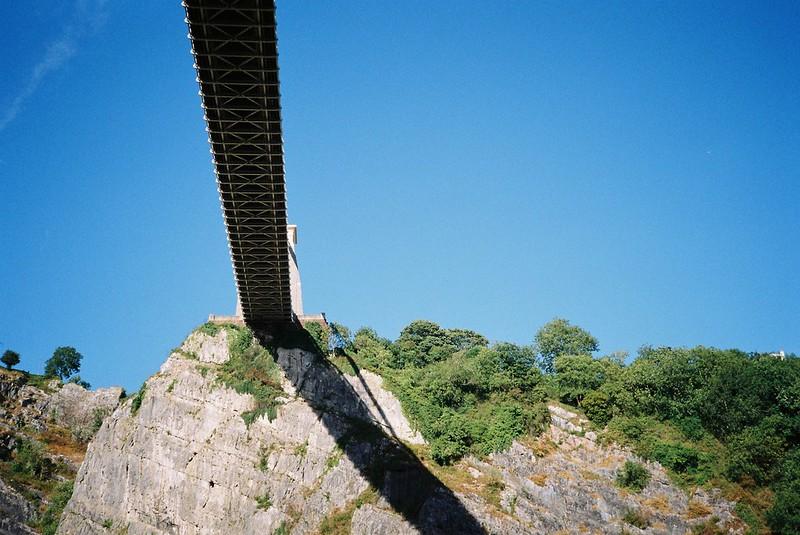Suspension Bridge shadows