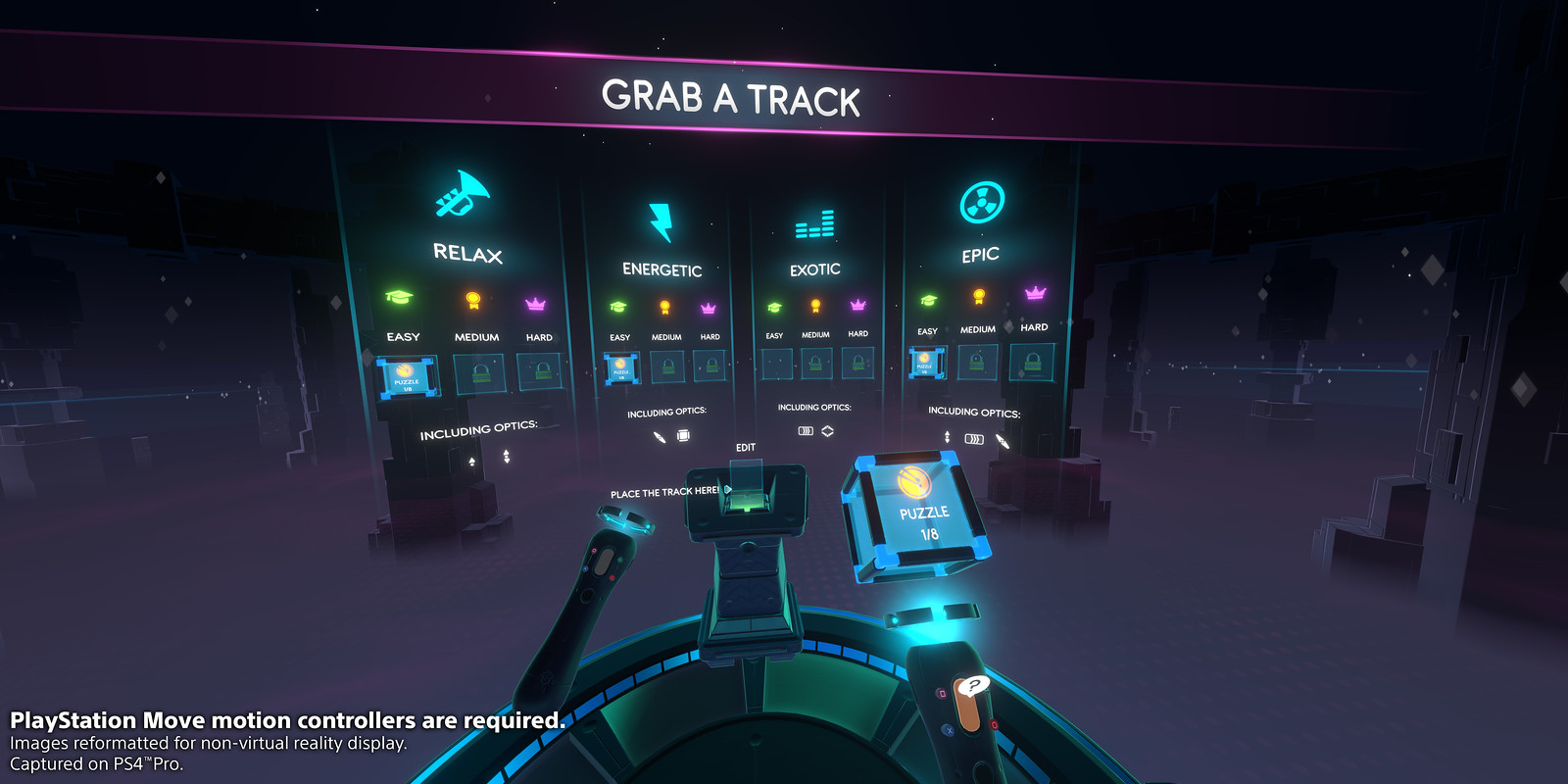 Track Lab for PS VR