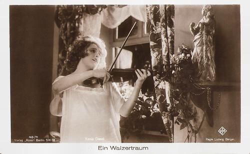 Xenia Desni in Ein Walzertraum (1925)