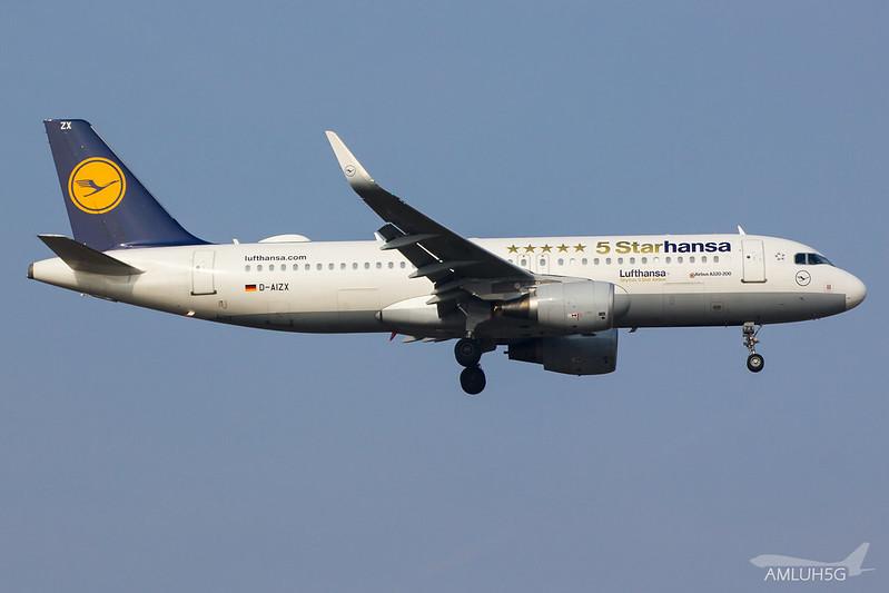 Lufthansa - A320 - D-AIZX (1)