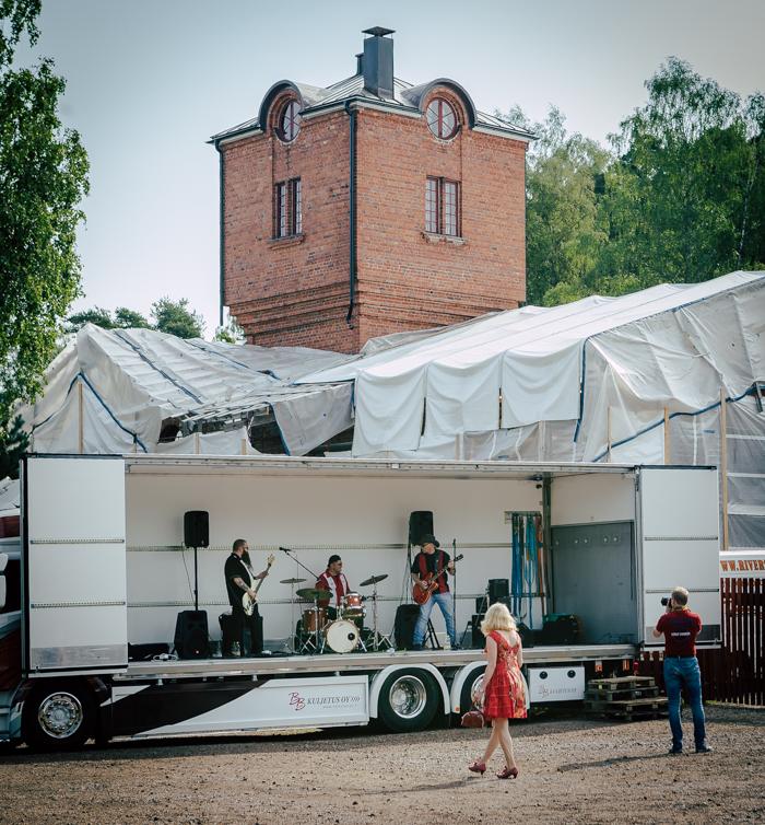 nevada cars bike show 2018 porvoo tapahtumakuvaaja bändi vanha rautatieasema