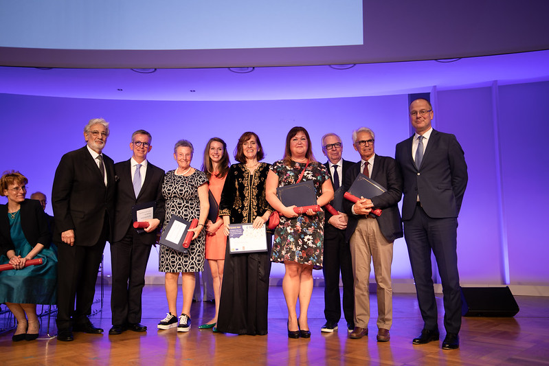 European Heritage Awards Ceremony 2018 - Grand Prix Winners