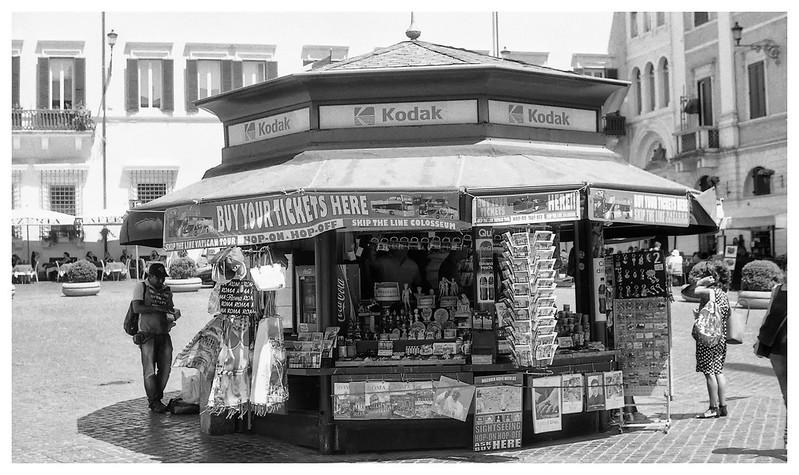 rome kiosk