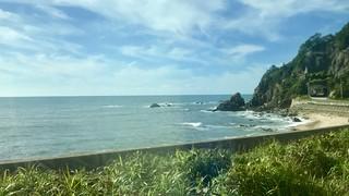 羽越線 日本海