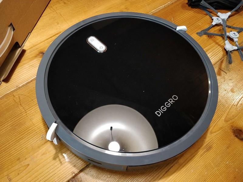 Diggro D300 ロボット掃除機 開封レビュー (27)