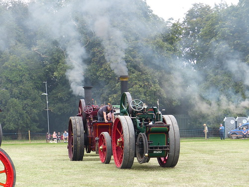 Steam Engines in Motion