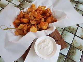 Potato Crispies at Fitz & Potts