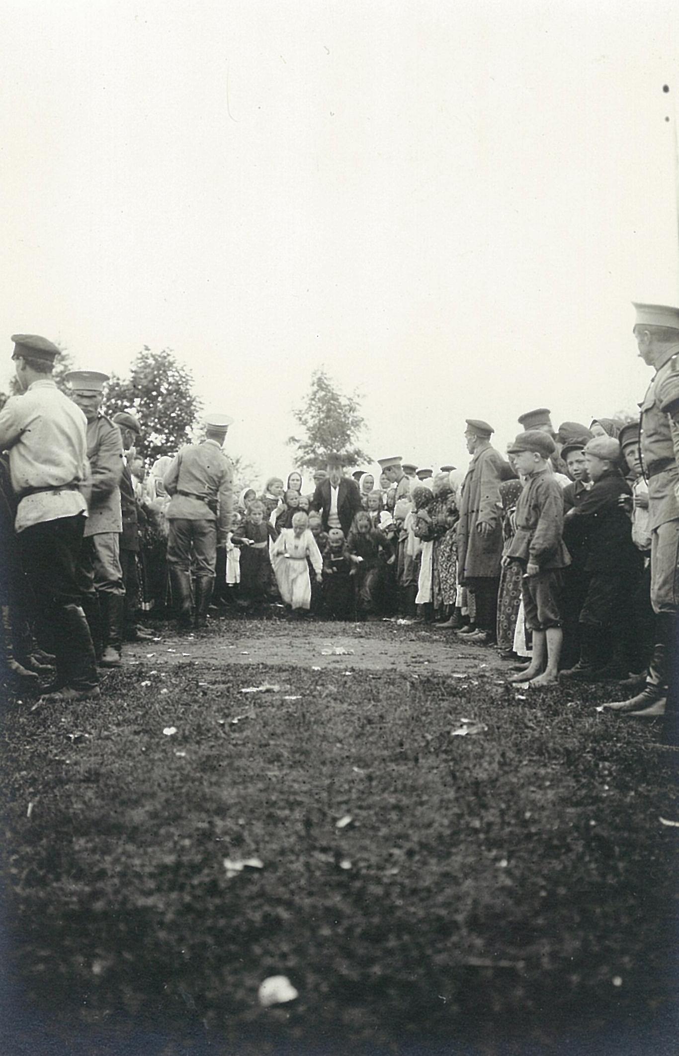 Детский праздник в Рябове
