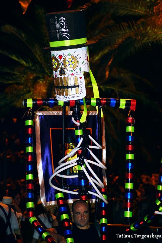 Выступление группы из Панчево на карнавале в Которе