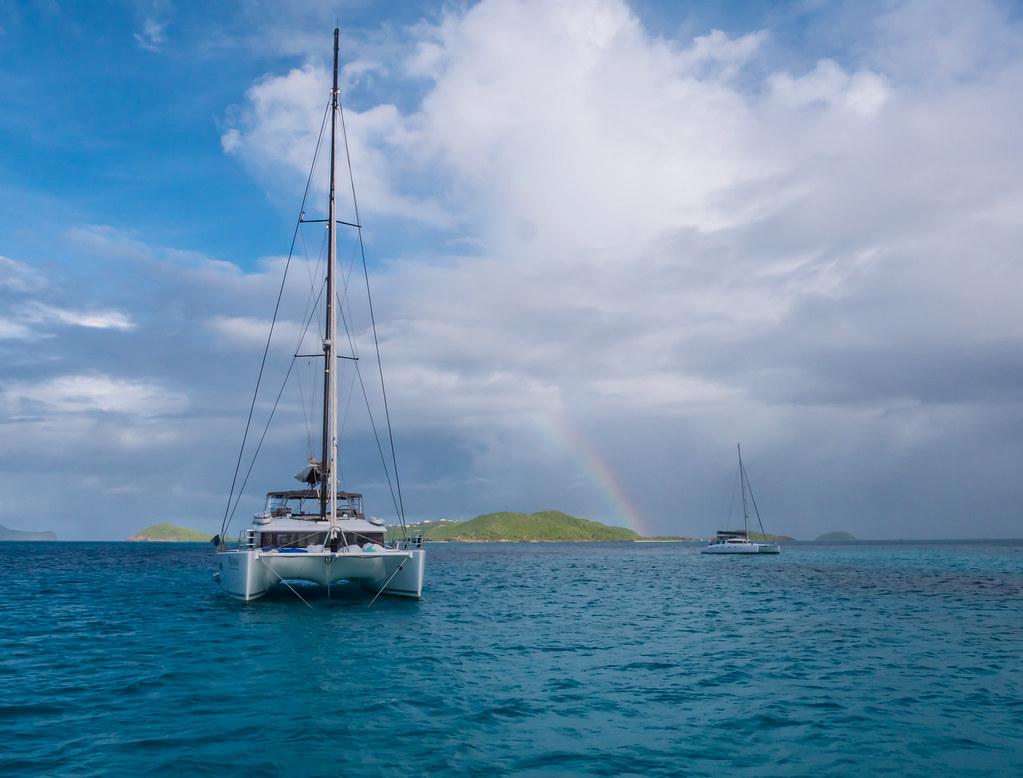 Rainbow over the Cays... 30315466768_d49d40d6a7_b