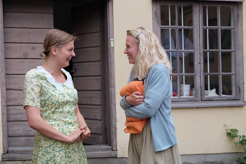 Lieze Broeders och Jenny Silfvenius