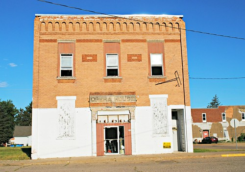 Former Plainfield, Wisconsin Opera House & Theatre