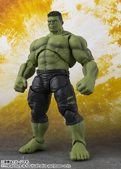 """We Had A Hulk."" S.H.Figuarts Avengers: Infinity War Hulk Makes His Debut!"