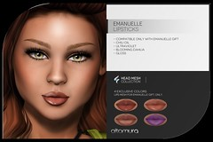 Altamura new FEMALE GROUP GIFT *Emmanuelle Lipsticks*