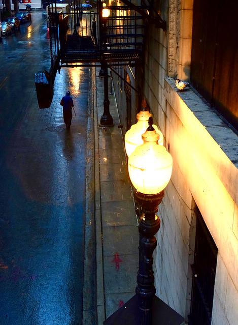 Chicago Nocturne in the Rain, 2018