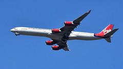 Virgin Airbus A340