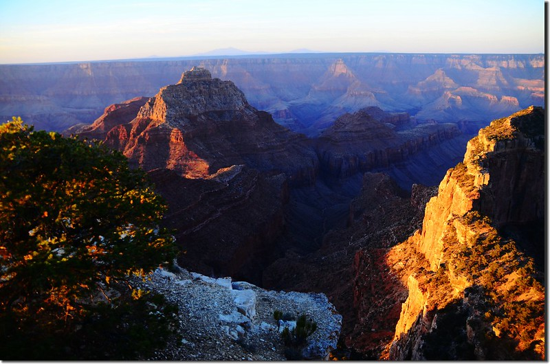Vishnu Temple as viewed from Cape Royal on the North Rim of the Grand Canyon (5)